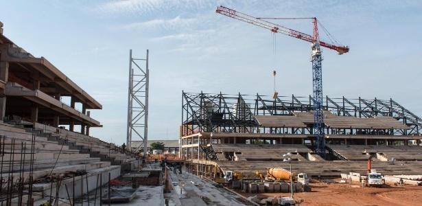 Arena Pantanal atingiu 62% de sua conclusão em fevereiro; obra deve terminar em outubro