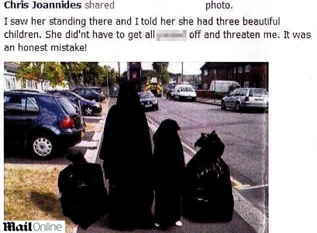Postagem polêmica de político britânico compara criança de burca a sacos de lixo