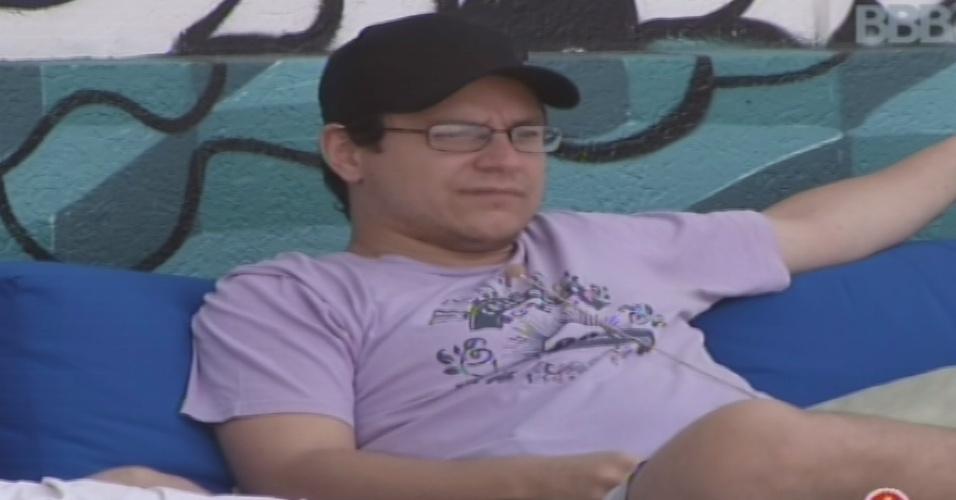 08.fev.2013 - Ivan diz achar que não será votado por Kamilla