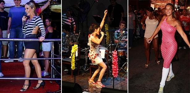 Claudia Leitte, Emanuelle Araujo e Milena Nogueira curtem o Carnaval com o sapato certo - Agnews