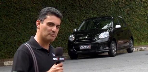 Nissan March SR Premium, com motor 1.6, é uma das avaliações do Auto+ desta semana - Reprodução