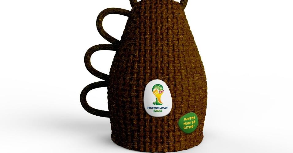 O instrumento musical oficial da Copa é a Caxirola, que custará entre R$19,90 e R$29,90