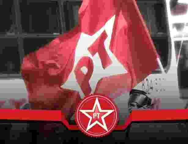 PT; bandeira; logotipo; Partido dos Trabalhadores - Arte/UOL