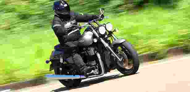 Modelo terá como concorrente a Harley-Davidson Fat Boy, que tem preço e lista de equipamentos próximos - Mario Villaescusa/Infomoto