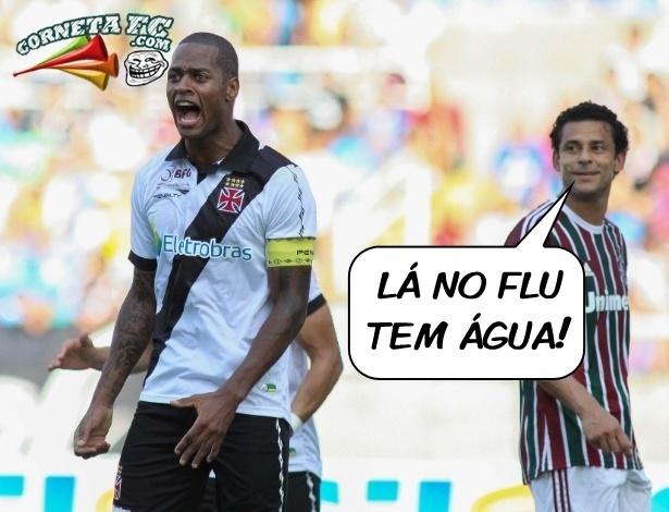 Corneta FC: Fred tira onda com Vasco