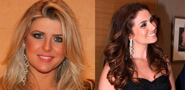 Iris Stefanelli e Giovanna Antonelli usam brincos grandes para levantar o look - Agnews