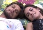 Na semana em que formaram casal, emparedado Eliéser e líder Kamilla são mais citados nas redes sociais - Reprodução/Globo