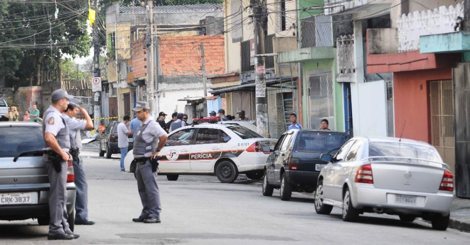 13.fev.2013 - Homem se mata após invadir uma casa no bairro Campanário, em Diadema, na Grande São Paulo