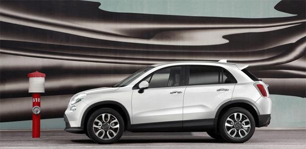 Fiat 500X em primeira foto oficial: dianteira e traseira inspiradas no Cinquecento  - Divulgação