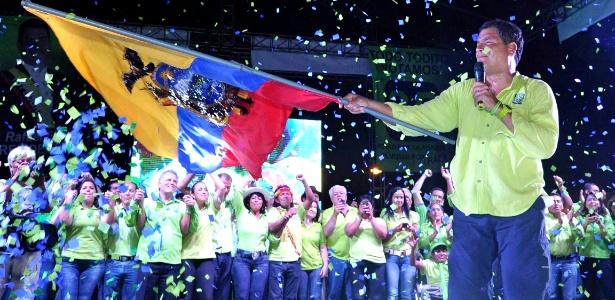 Processo eleitoral vai pôr fim a sequência de três mandatos de Rafael Correa