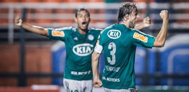 O zagueiro e capitão Henrique tem contrato com o Palmeiras até 2017 - Leandro Moraes/UOL