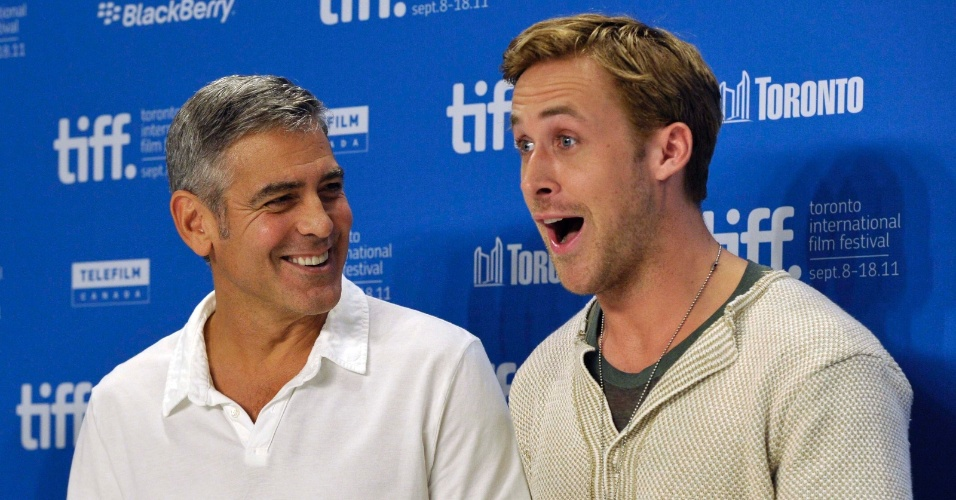 Ryan Gosling e George Clooney