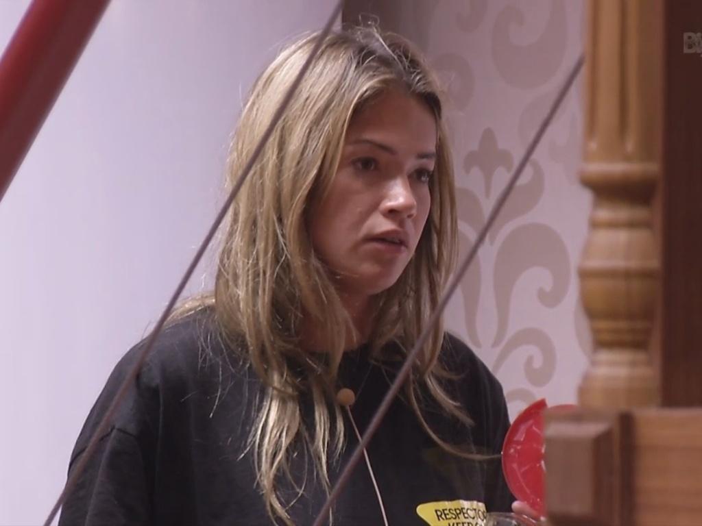 15.fev.2013 - Fani critica Eliéser para Andressa