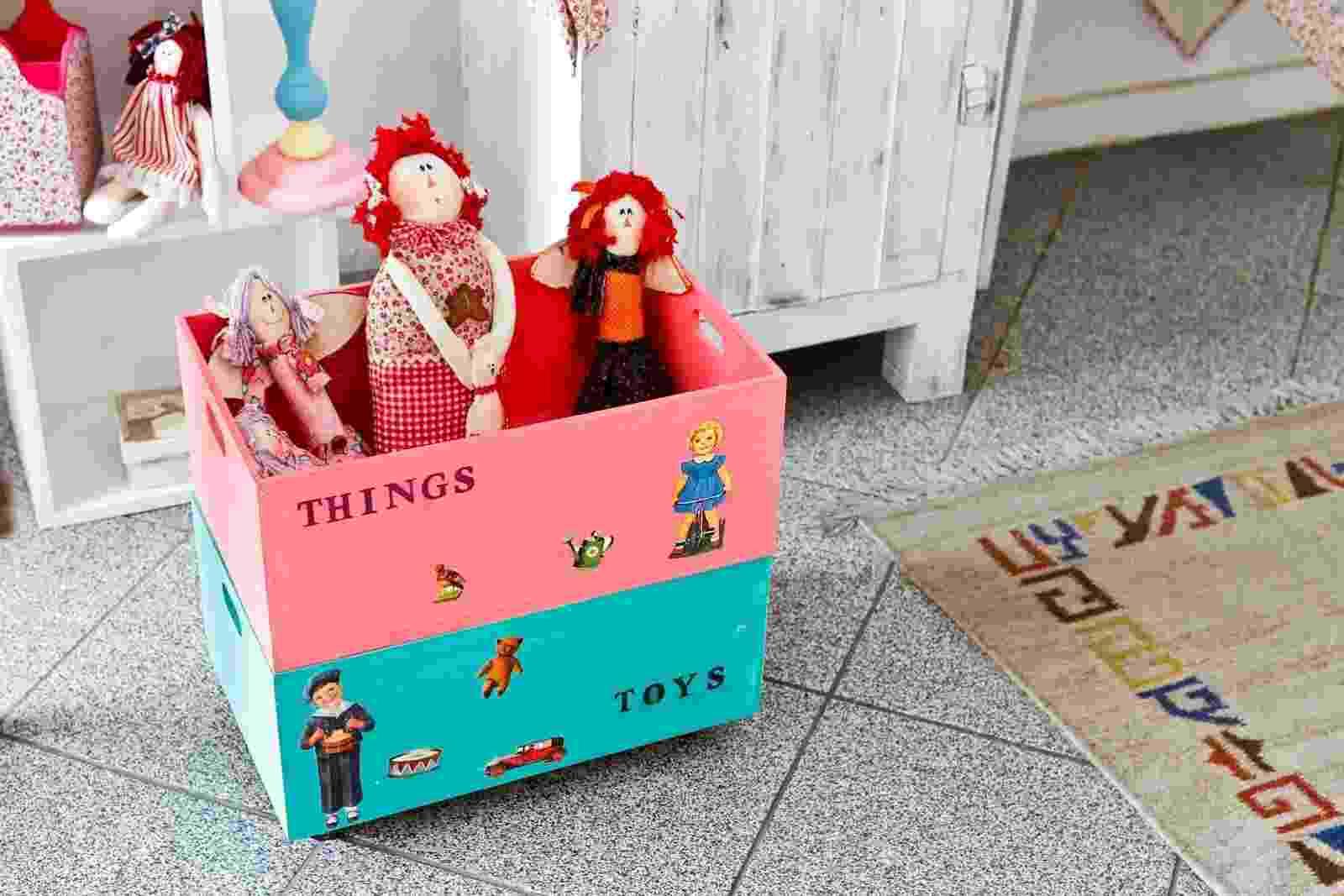 caixa para organizar brinquedos - Leandro Moraes/UOL