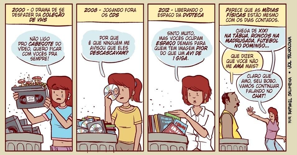"""Mídias físicas'' - 16/2/2013"