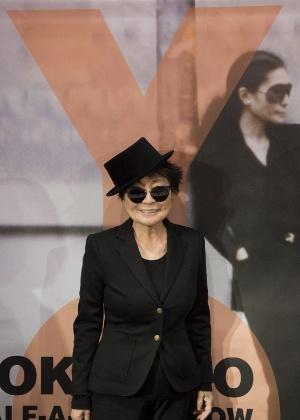 A artista plástica Yoko Ono - EFE/Arne Dedert