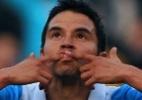 Aposentado dos gramados, Saviola estreará no futsal em Andorra, diz jornal - Jorge Guerrero/AFP Photo