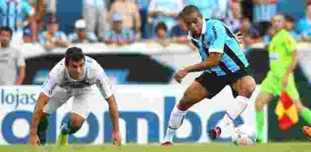 Welliton marcou 1 gol em 9 jogos pelo Grêmio e tem total confiança de Luxemburgo - Lucas Uebel/Preview.com