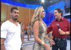 """""""Precisa fazer aula de falsidade para ficar no programa"""", diz Aline no Faustão - Reprodução/Globo"""