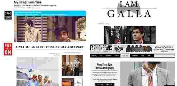 Há boas opções de blogs especializados em moda masculina para quem quer acompanhar de perto as novidades, como Fashion Beam, I am Galla e Put This On - Reprodução