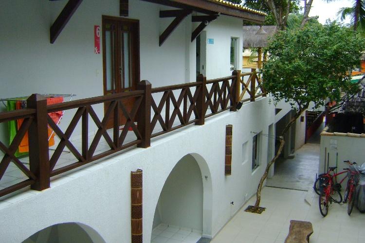 O Mox Hostel, novidade nas hospedagens da rua do Mucugê: todos os quartos (coletivos, para casal ou individuais) têm banheiro e o albergue aluga bicicletas para os hóspedes