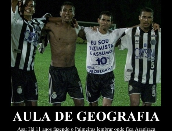 Corneta FC: Há 11 anos, Palmeiras era eliminado da Copa do Brasil pelo Asa