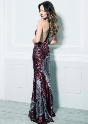 A atriz Olivia Wilde posa para a campanha Inverno 2013 da Bô.Bô em sua segunda parceria com a marca brasileira - Divulgação