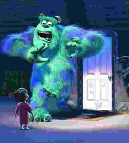 Monstros S.A. (2001), de Pete Docter, David Silverman e Lee Unkkrich - Disney/Pixar