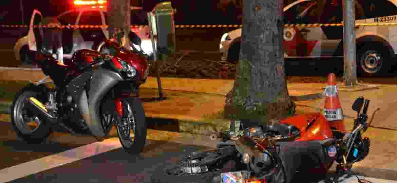 Tentativa de roubo de moto em São Paulo: além da perda do patrimônio, há o risco pessoal. Mas qual é o destino do veículo? - Edu Silva/Futura Press