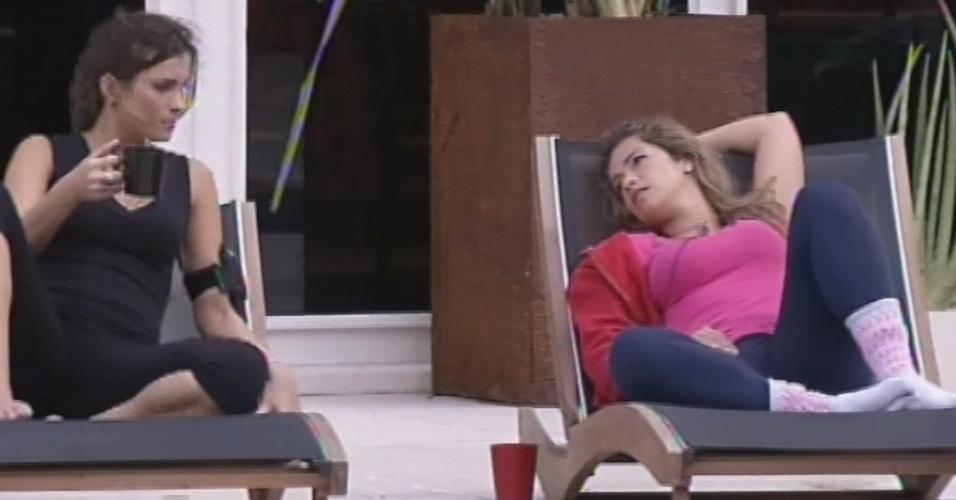 22.fev.2013 - Kamilla pede conselhos sobre Eliéser a Fani