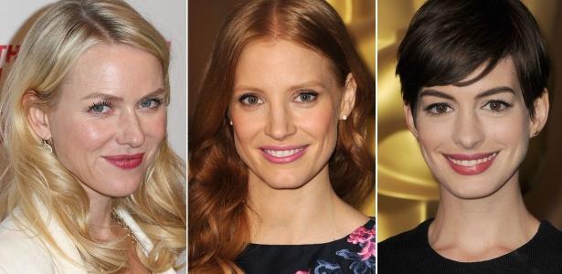 Famosas como Naomi Watts, Jessica Chastain e Anne Hathaway se submetem a tratamentos estéticos para cruzar o tapete vermelho do Oscar com a pele radiante  - Getty Images
