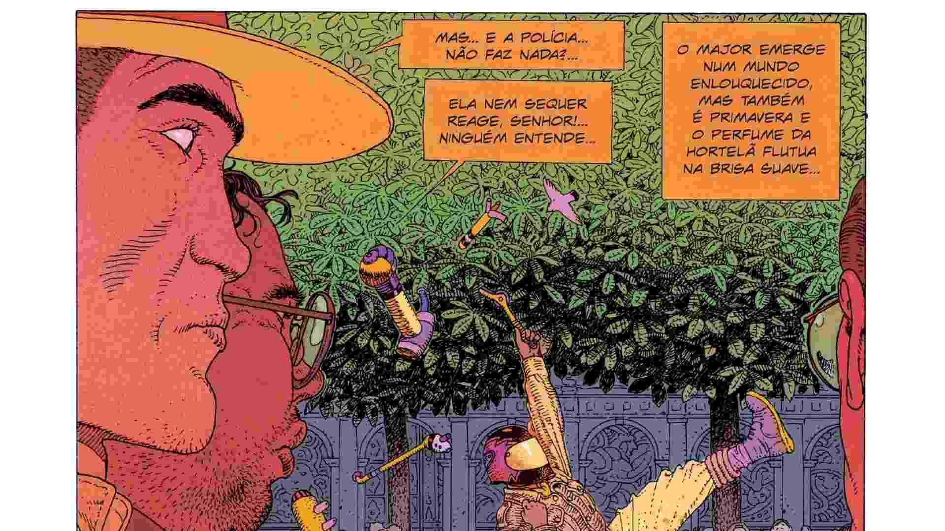 """Trecho de """"O Homem do Ciguri"""", que tem como protagonista o Major Gruber - Divulgação"""