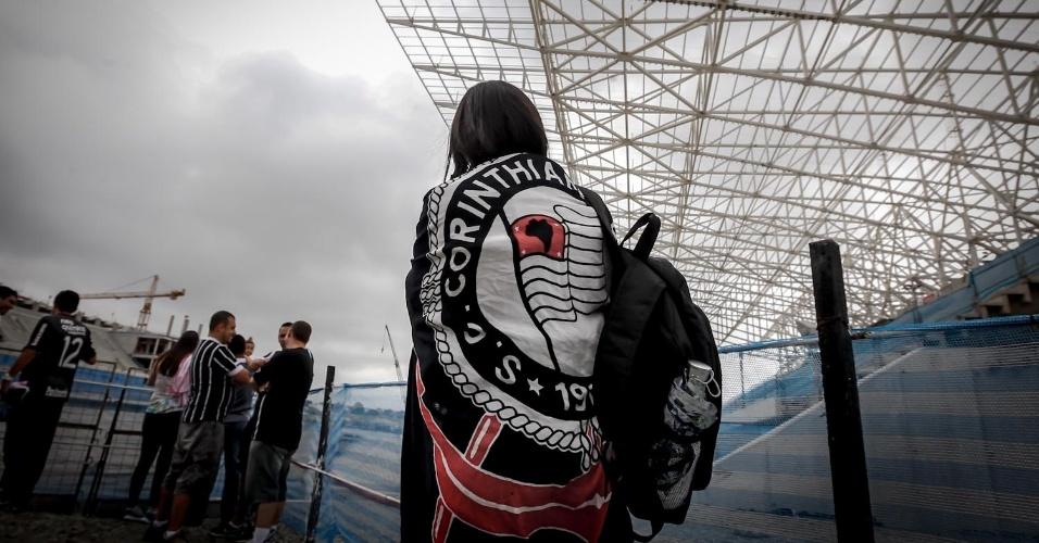 23.02.2013 - O Itaquerão vai receber seis jogos da Copa de 2014, incluindo a abertura do Mundial