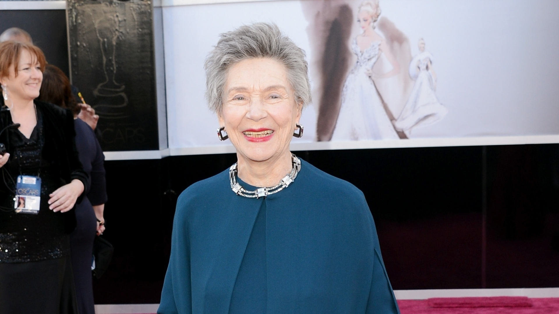 24.fev.2013 - A atriz Emmanuelle Riva, que completa 86 anos neste domingo, é a atriz mais velha a ser indicada no Oscar