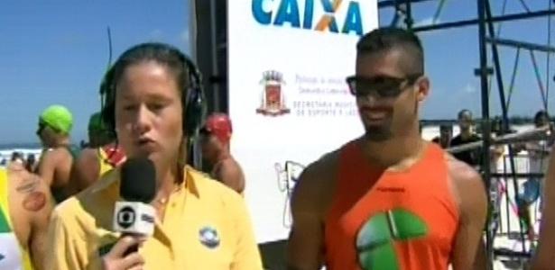 24.fev.2013 - Ex-BBB Yuri participa de Mundialito de Triatlo Rápido no Rio de Janeiro, nesta manhã