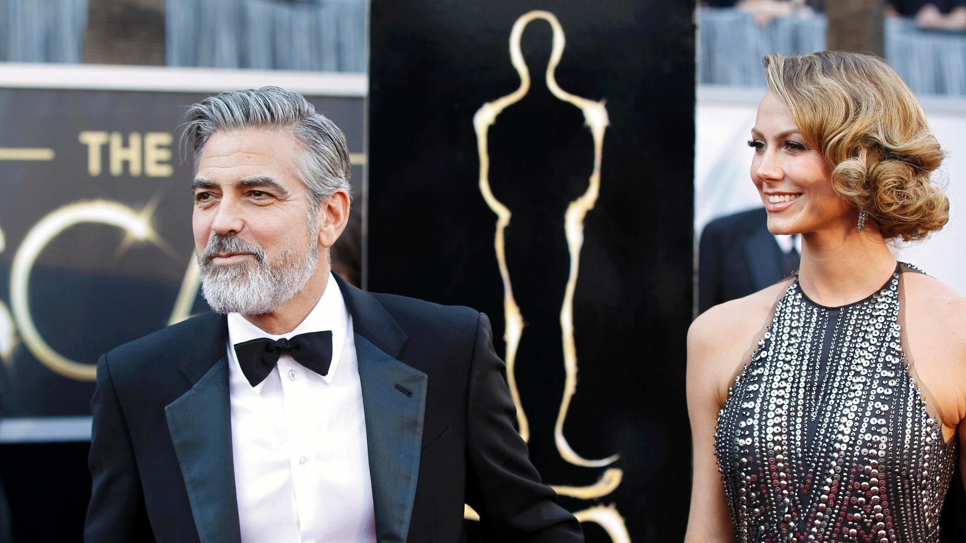 24.fev.2013 - George Clooney, produtor de