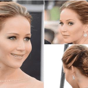 24.fev.2013 - Jennifer Lawrence no tapete vermelho do Oscar 2013 - Getty Images