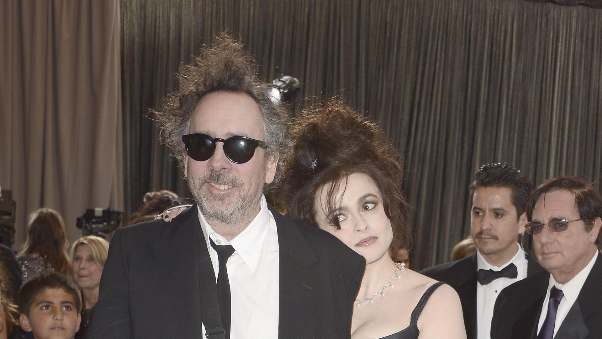 24.fev.2013 - O diretor Tim Burton, que concorre a Melhor Animação com