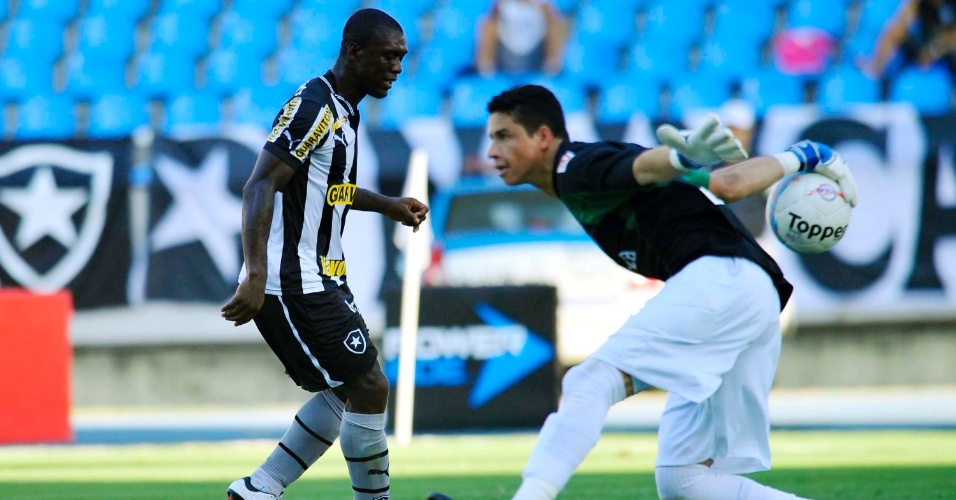 Botafogo, de Seedorf, e Boavista fizeram um jogo movimentado no Engenhão