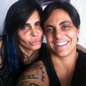 Thammy e Gretchen em 2013