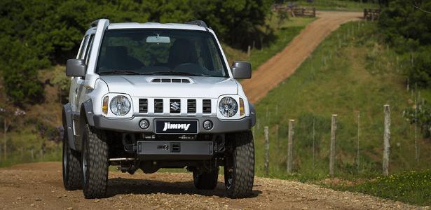 Suzuki Jimny 4Sport: muita raça quando a questão é enfrentar terrenos desafiadores - Divulgação