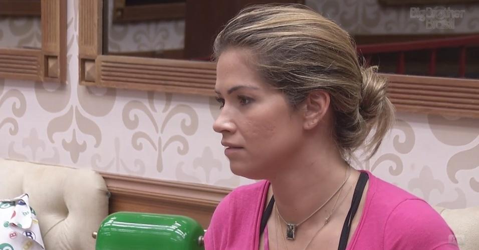26.fev.2013 - Fani revela que ficou indignada com atitude de Nasser
