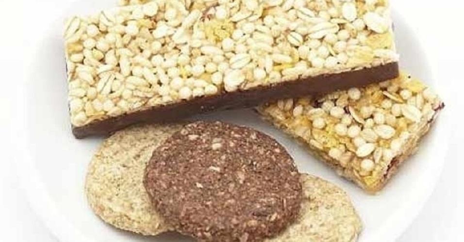 barra de cereais, biscoito integral