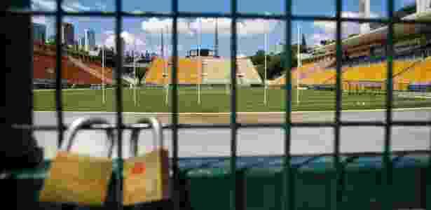 Segundo a Conmebol, o estádio do Pacaembu deverá estar vazio no jogo do Corinthians - Fernando Donasci/UOL