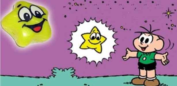 O brinquedo Estrelinha Mágica foi inspirado em uma história da Turma da Mônica