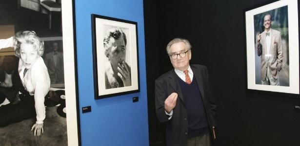 Willy Rizzo, fotógrafo, em sua casa em Montecarlo - EFE/Marc Mehran