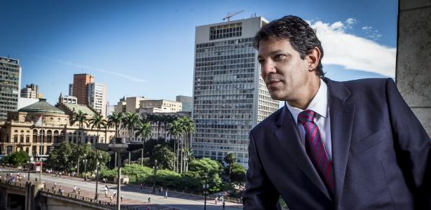 O prefeito de São Paulo, Fernando Haddad (PT), concede entrevista exclusiva ao UOL - Leandro Moraes/UOL