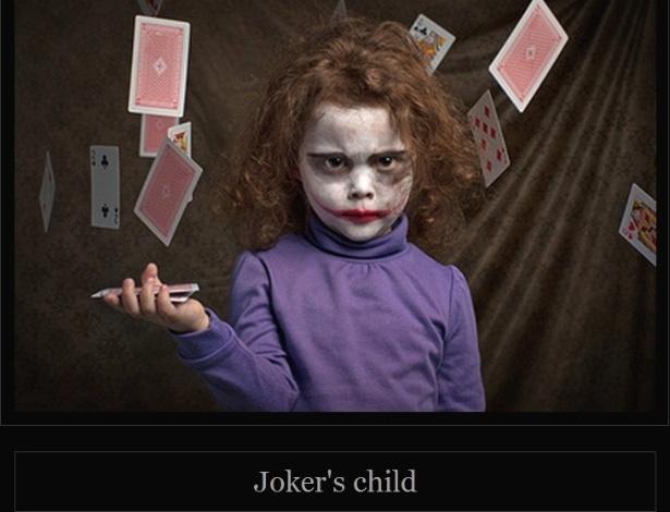 27.fev.2013 - Australiano fotografa filha de 5 anos em poses de imagens clássicas