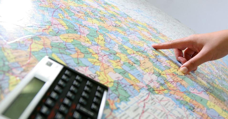 Geografia, mapa múndi, educação, curso
