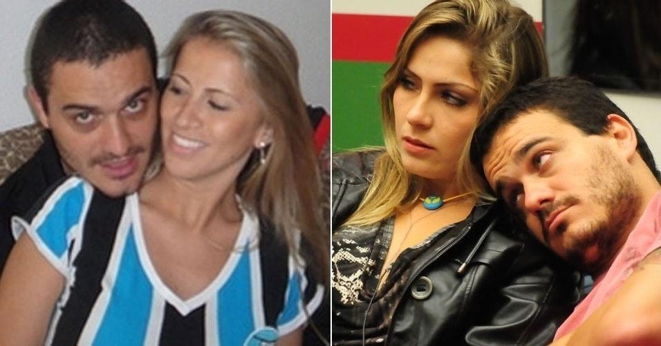 O projetista de iluminação Rafa namorava a estudante Camila Patorini quando entrou no